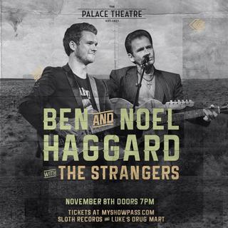 Concierto de Ben and Noel Haggard en Enoch