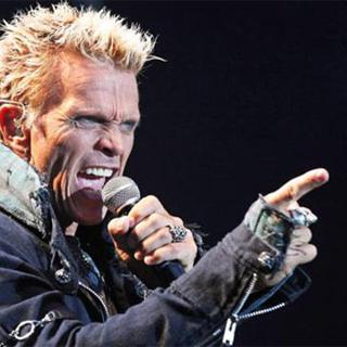 Billy Idol concert in Mexico City