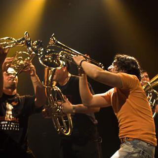 Concierto de Boban Markovic Orkestar en Aschaffenburg