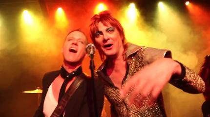BowieLive (Bowie Tribute) concert in Vancouver