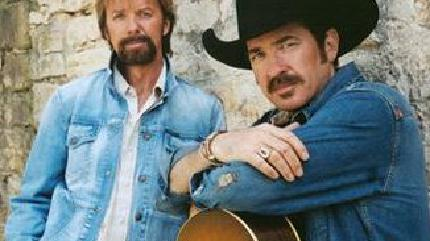Brooks & Dunn in concerto a Mansfield