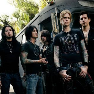 Concierto de Buckcherry en Londres