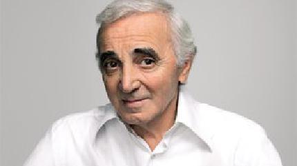 Concierto de Charles Aznavour en París