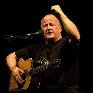Concierto de Christy Moore en Glasgow