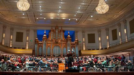 Concierto de COV Haarlem en Haarlem