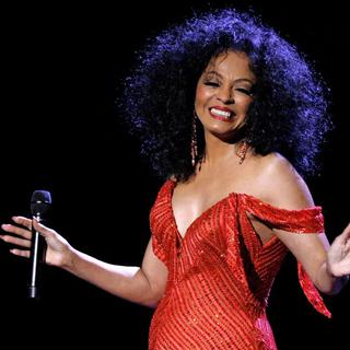 Concierto de Diana Ross en New York