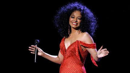 Diana Ross concert in Manchester