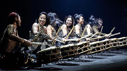 Concierto de Drum Tao en Fresno