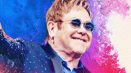 Elton John concert à Paris
