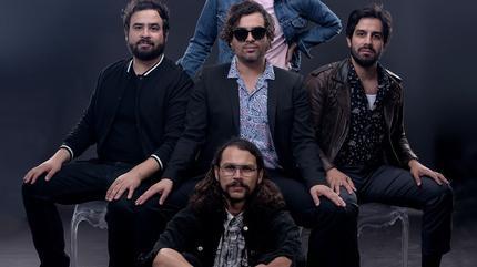 Enjambre concert in Monterrey