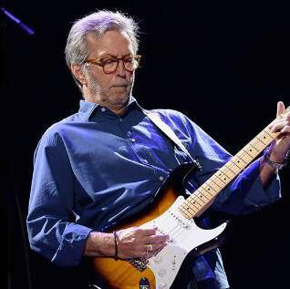 concert of Eric Clapton in San Francisco