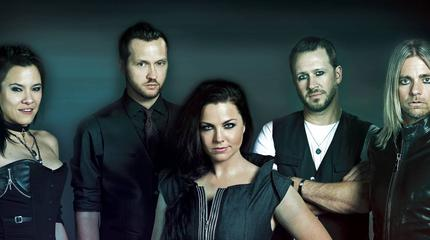 Evanescence concert in Glasgow