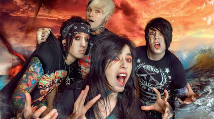 Falling In Reverse + Asking Alexandria + Wage War in concerto a Charlotte