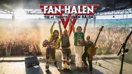 Concierto de Bonfire + Fan Halen en Las Vegas