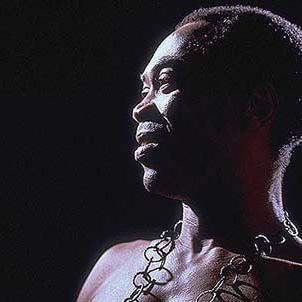 Concierto de Fela Kuti en Londres