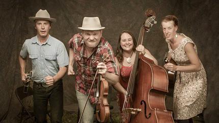 Concierto de Foghorn Stringband en Asheville