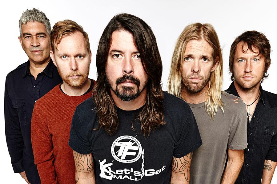 Foo Fighters concert in Berlin