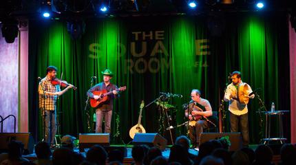 Four Leaf Peat concert in Charleston