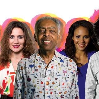 Concierto de Gilberto Gil en Río de Janeiro