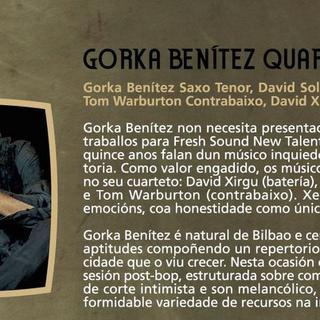 Concierto de gorka benitez + Marcos Baggiani + Guillermo Celano en Barcelona