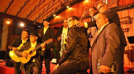 Konzert von Grupo Compay Segundo in Lausanne