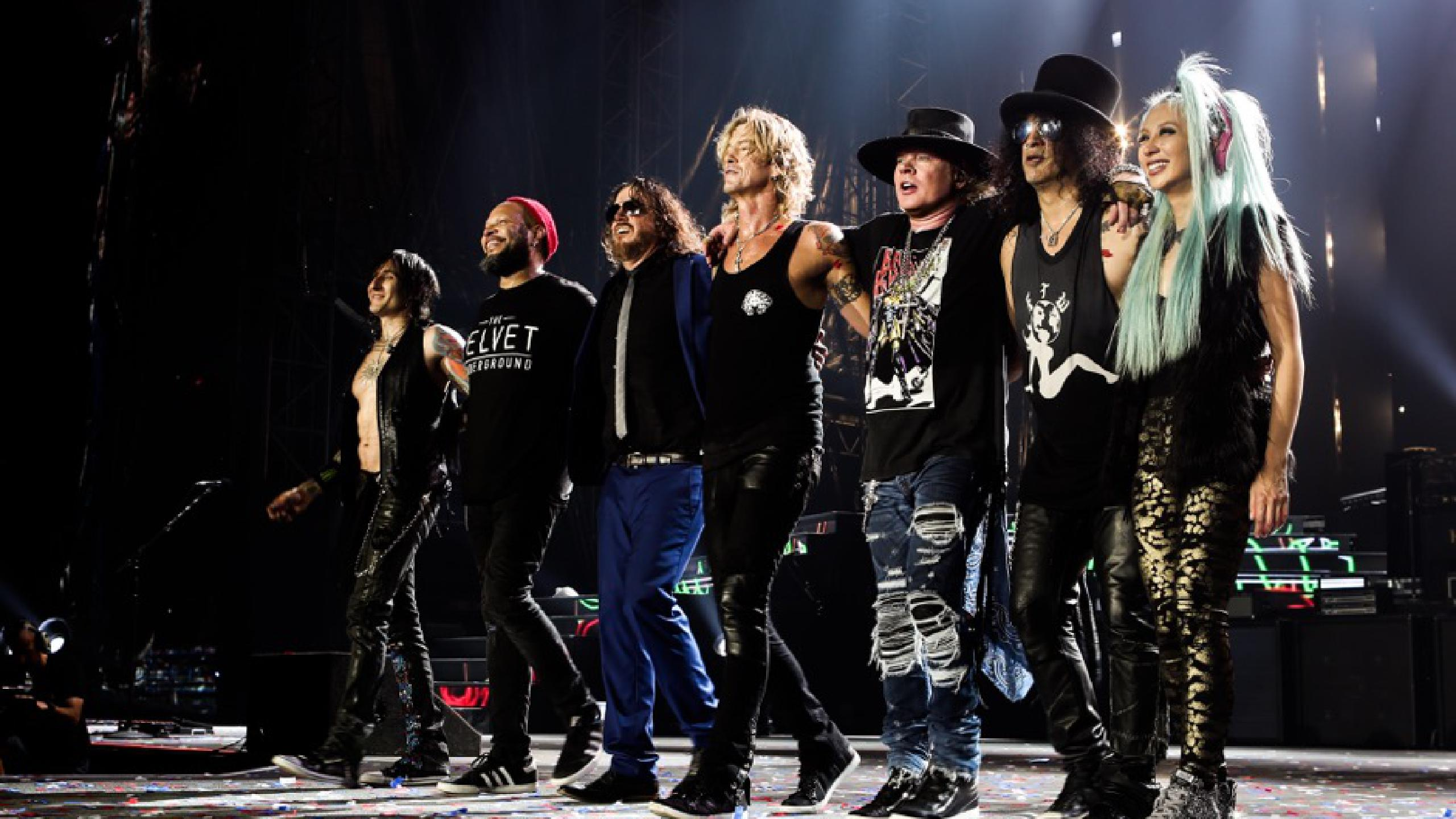Image result for Guns N' Roses 2018