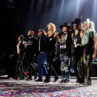 Guns N' Roses + Bring Me the Horizon + Beck concert in New Orleans