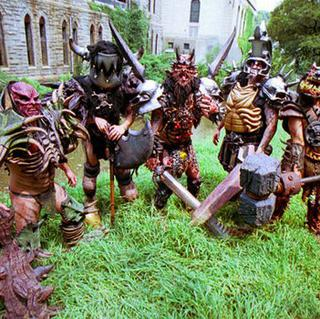 Concierto de GWAR en Newcastle-upon-Tyne