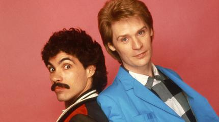 Hall And Oates in concerto a Mansfield