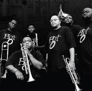 Concierto de Hot 8 Brass Band en New Orleans