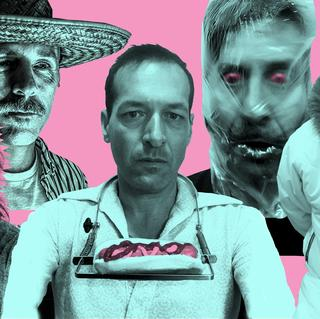 Concierto de Hot Snakes en Cambridge