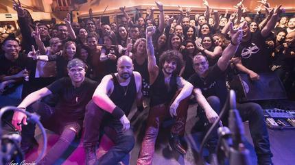 Iberia Sumergida concert in Valladolid