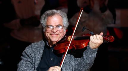 Concierto de Itzhak Perlman en Easton