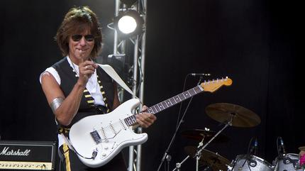 Jeff Beck concert in Manchester