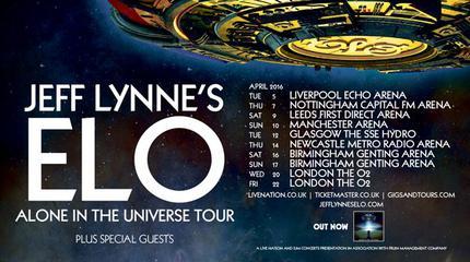 Jeff Lynne concert in Manchester