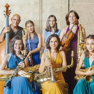 Concierto de Joan Chamorro quartet & Jazz Ensemble en Barcelona