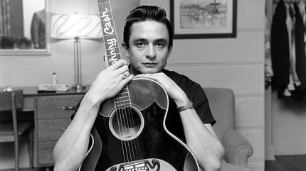 Johnny Cash concert in Lindsay