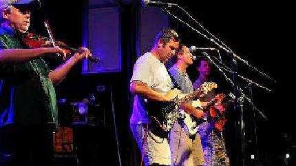 Jupiter Coyote concert in Charleston