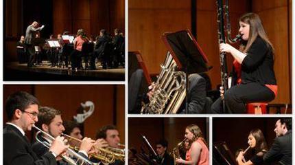 Concierto de KU Wind Ensemble en Lawrence