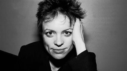 Laurie Anderson concert in Nantes