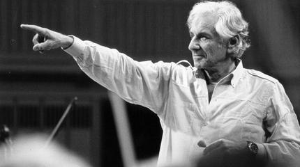 Leonard Bernstein concert à Newark