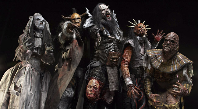 Lordi concert in Istres