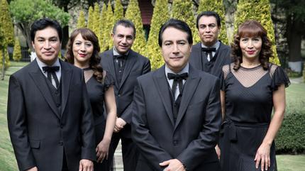 Concierto de Los Ángeles Azules en Hidalgo