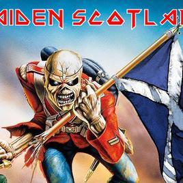 Maiden Scotland concerto a Edimburgo