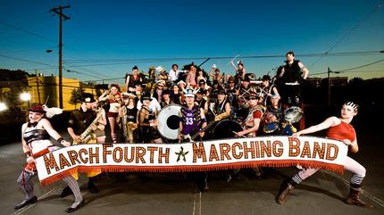 Concierto de MarchFourth Marching Band en Seattle