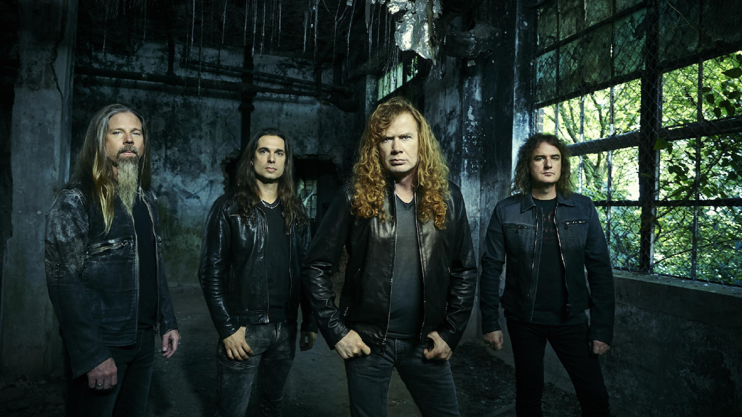 Megadeth fechas de gira 2021 2022. Megadeth entradas y conciertos | Wegow  España