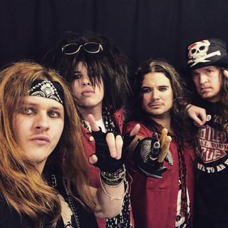Motley Crüde concert à Aberdeen