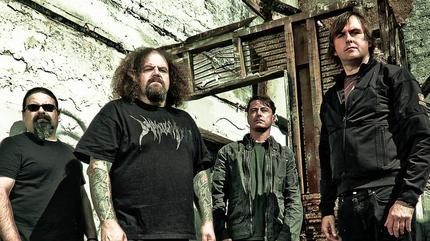 Napalm Death + The Locust concert in Seattle
