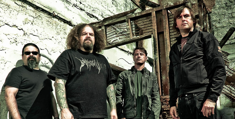 Napalm Death concert in Limerick
