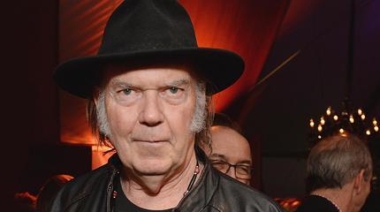 Konzert von Neil Young in St Kilda